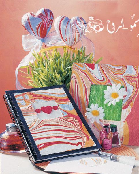 الرسم بالوان الماربل والمعروف بالايبرو 3d9dc410