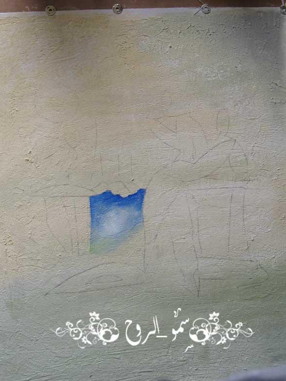 رسمتي الجديدة بالوان الاكريليك ومعجون الرمل بالخطوات اكيد Img_6816