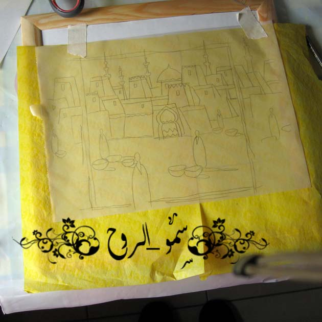 الرسم بالرمل الملوان بالصور والفيديو Img_6914